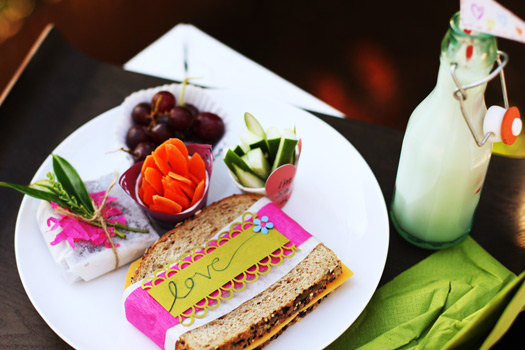 Adding Personalized Creative Touches to Lunches