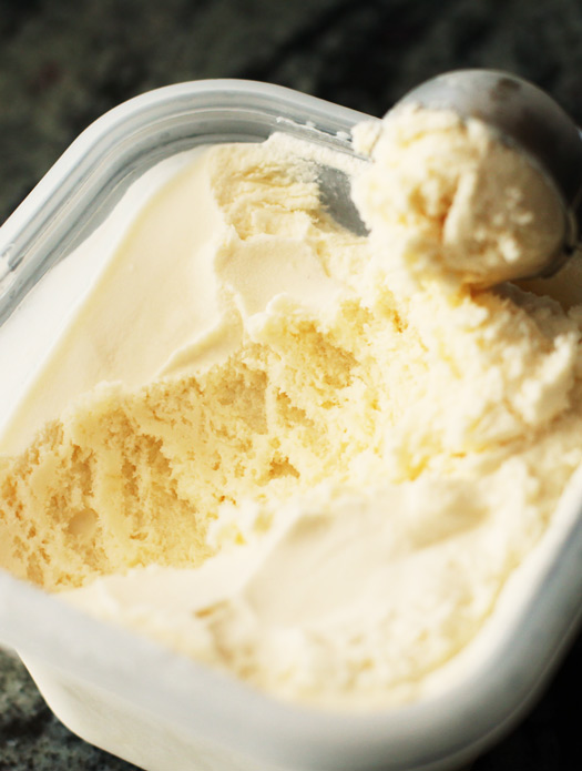 Easy Egg-Free Vanilla Ice Cream | Easy Recipes, Tips, Ideas, and Life ...