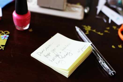 post it note Adding Personalized Creative Touches to Lunches