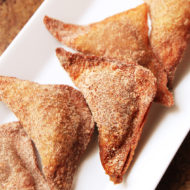 Deep-Fried Pumpkin Pie Wontons