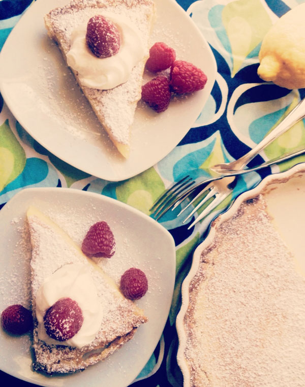 Easy Homemade Lemon Tart