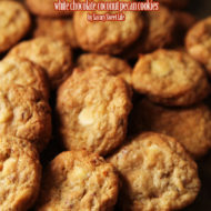 White Chocolate Coconut Pecan Cookies