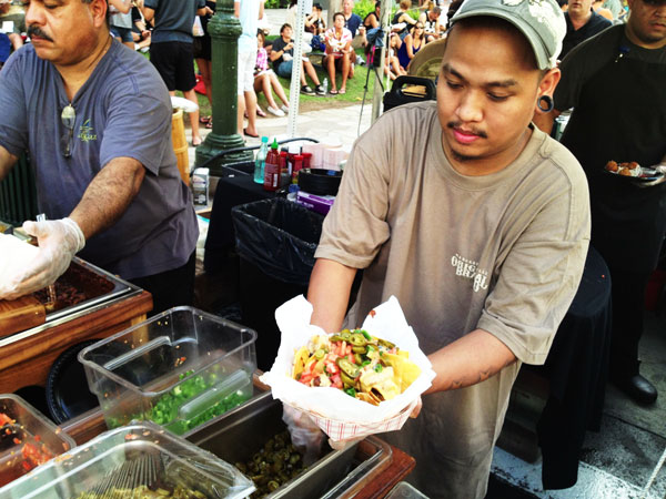 spam jam nachos Food Adventure: A Recap of Honolulus SPAM JAM 2013