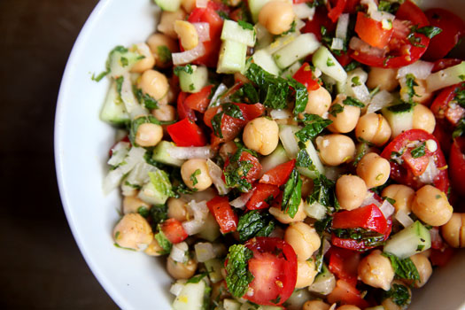 Chickpea-Lemon-MInt-Salad