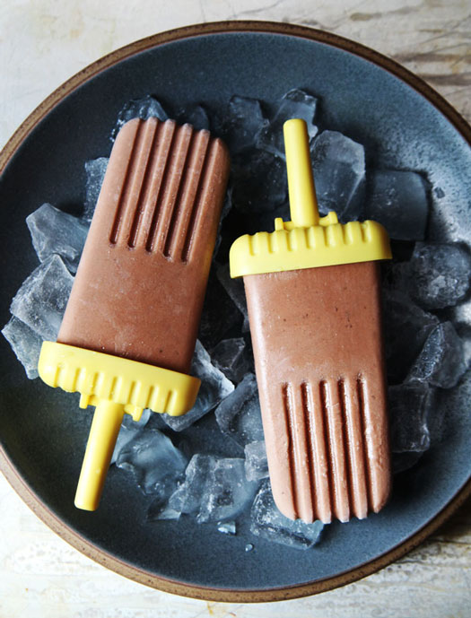 Dairy-Free Chocolate Banana Pops