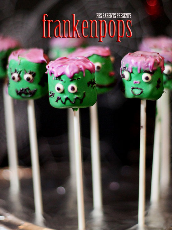 frankenstein-marshmallow-pops