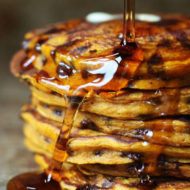 The Heart Wants What The Heart Wants: Pumpkin Chocolate Chip Pancakes