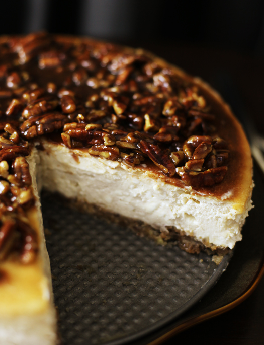 Alice's Cinnamon Pecan Cheesecake | Easy Recipes, Tips, Ideas, and ...