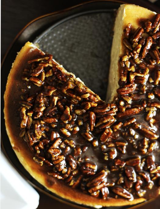 Alice's Cinnamon Pecan Cheesecake