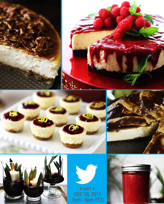alice twitter Cheesecake Cheer Party Today!