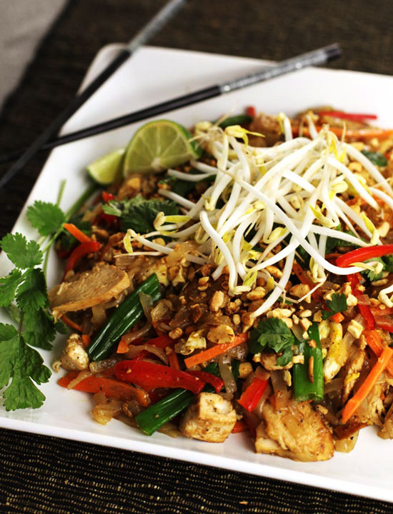 chicken pad thai Chicken Pad Thai Recipe