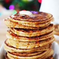 Homemade Sour Cream Gingerbread Pancakes