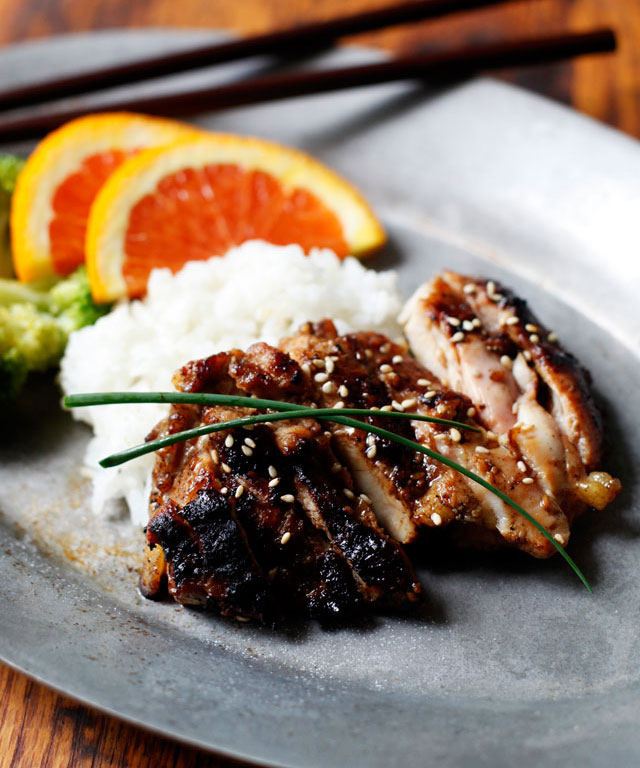 grilled-chicken-teriyaki-thighs