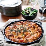 Sausage Kale Tomato Strata