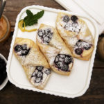 Blueberry Lemon Cheesecake Tarts