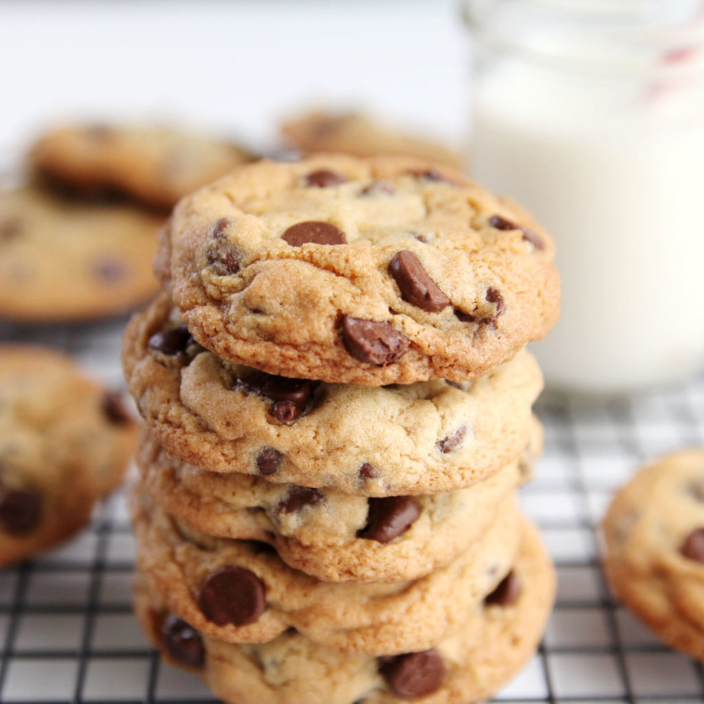 BEST CHOCOLATE CHIP COOKIE RECIPE, EVER