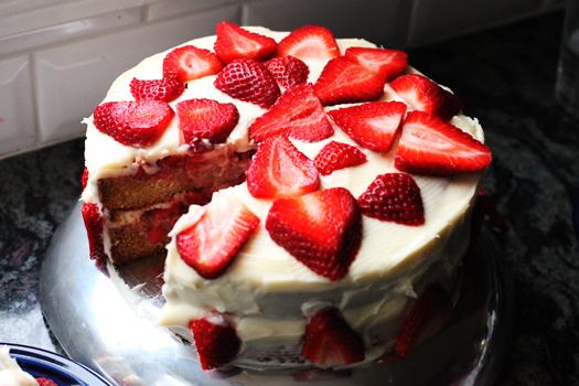 Pioneer Woman Strawberry Shortcake Cake Recipe