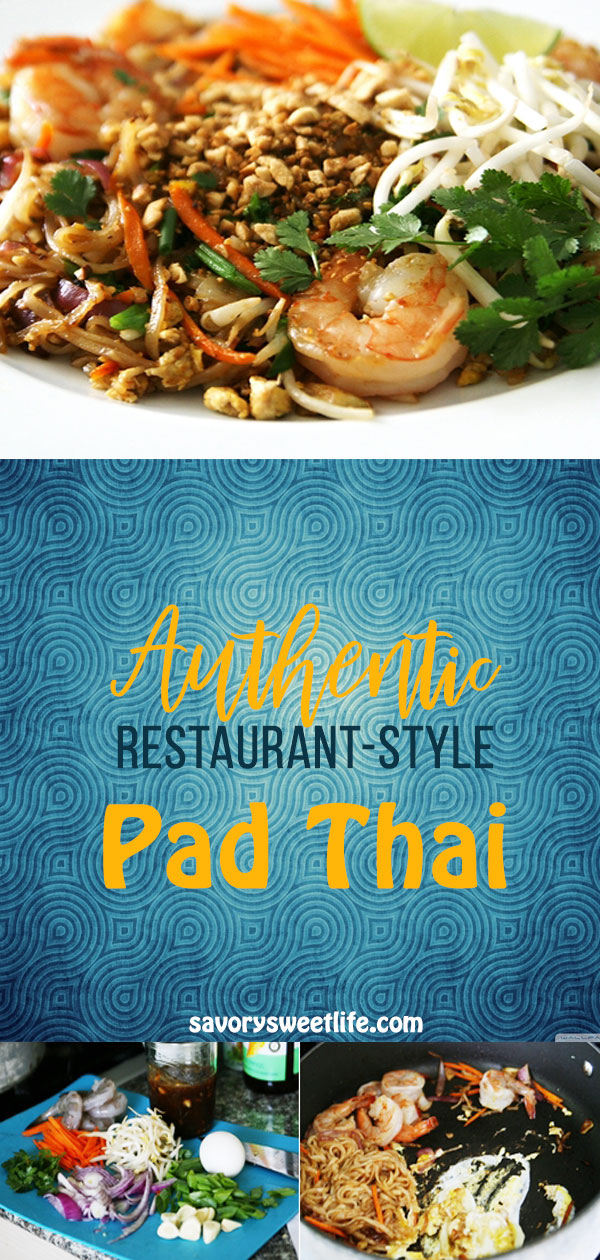 Ever want to make Pad Thai at home as good as your local Thai restaurant? Ever try to making a homemade pad Thai recipe and something didn't quite taste right?  This authentic restaurant-style pad Thai will bring you happy tears of joy when you learn how to make it correctly using the right ingredients. This pad Thai recipe comes from a Thai grandmother and will not disappoint.