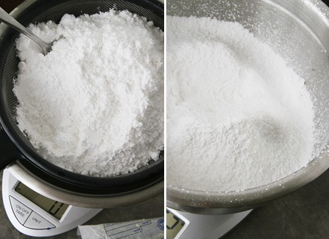 buttercream powdered sugar