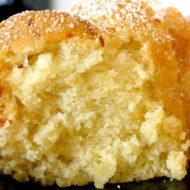 Sunday Morning Lemon Poundcake