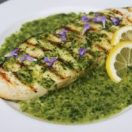 Chimichurri Recipe: Grilled Halibut with Chimichurri