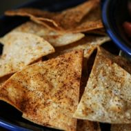 DIY: Easy Baked Tortilla Chips Recipe