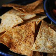 DIY: Easy Baked Tortilla Chips Recipe