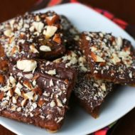 Almond Chocolate Toffee Brittle & Bon Appétit Dessert Bake-Off