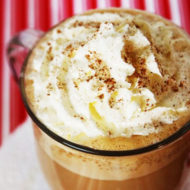 {Holiday Cheer} Eggnog Latte Recipe