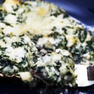 Stuffed Portobello Mushrooms with Spinach