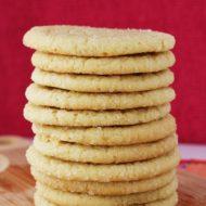 Drop Cracked Sugar Cookies