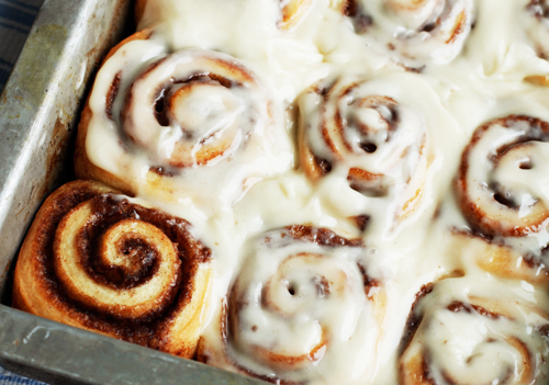 Save 4 5 From 8 Reviews Print Homemade Cinnamon Rolls