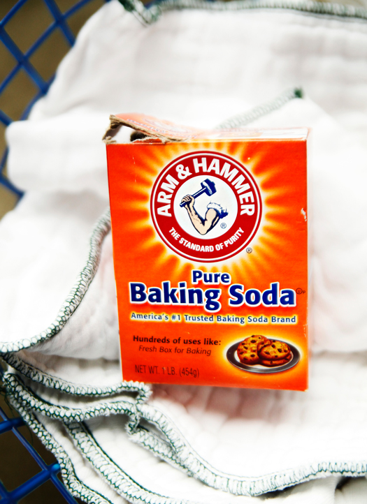 Adding Baking Soda In Laundry