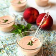 Ginger Peach Mint Bisque