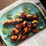 SAVORY SWEET LIFE Cookbook Discussion Club – Week 3: Thai Marinated Grilled Chicken Skewers