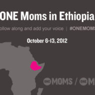Off to Ethiopia I Go. Join the Movement. #ONEMoms