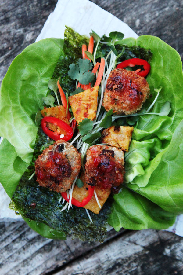 Thai-lettuce-nori-spam-wrap