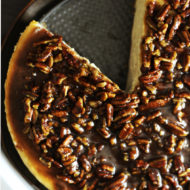 Alice's Cinnamon Pecan Cheesecake