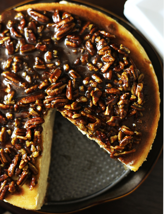 Cinnamon-Pecan-Cheesecake