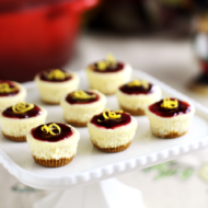 Easy Elegant Mini Cheesecake Bites