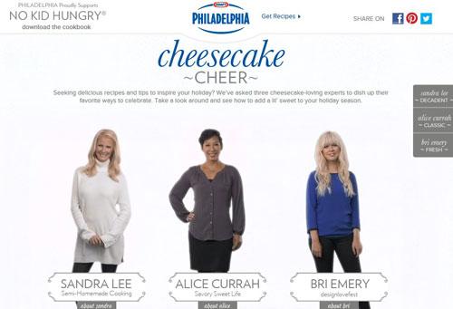 Sandra-Lee-Alice-Currah-Cheesecake