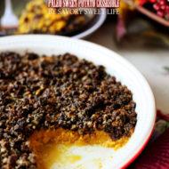 Paleo Gluten-Free Sweet Potato Casserole