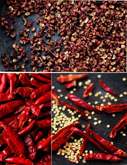 Sichuan-peppercorns