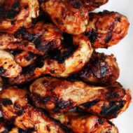 Grilled BBQ Chicken Legs Recipe