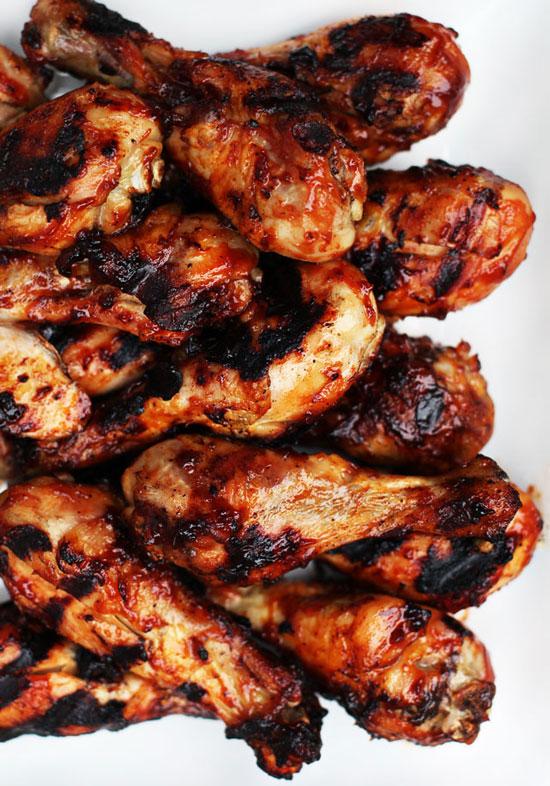Grilled-BBQ-Chicken-Legs-Recipe