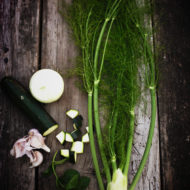 Zucchini Fennel Soup