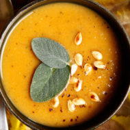 Squash Apple Sage Soup