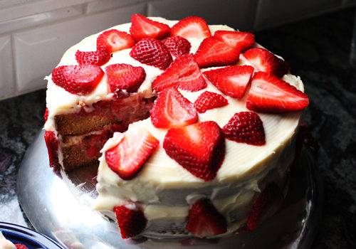 The Pioneer Woman S Strawberry Shortcake Cake