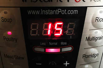 instant pot chicken thigh